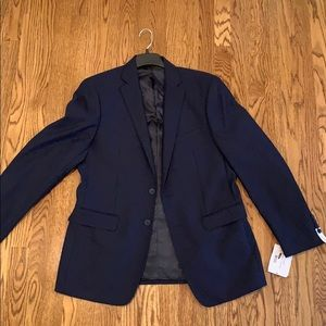 New with tags Calvin Klein navy blazer 40 R